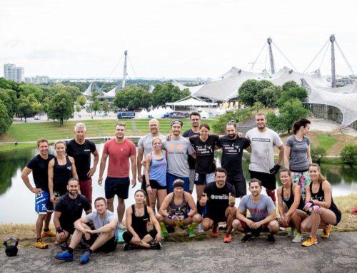 Crossfit training in München